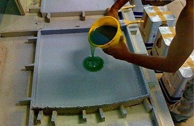 Betondan mermer nasıl yapılır: teknoloji. Betondan suni mermer